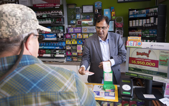 Lottery jackpots rise as winning ticket sold at Prospect store