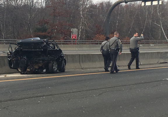 Crash closes Route 8 for hours | Citizen's News