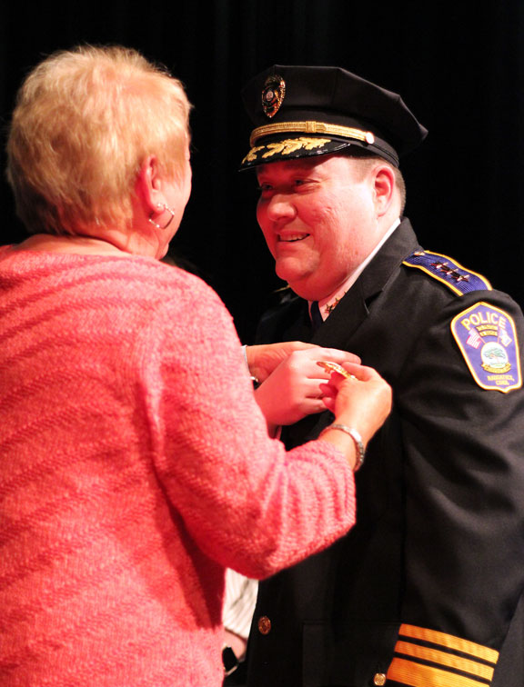 Hunt completes ascension to police chief | Citizen's News